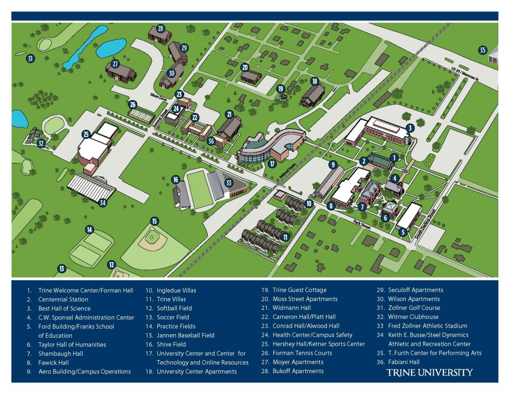 Governors State University Campus Map.Campus Hoosier Boys State
